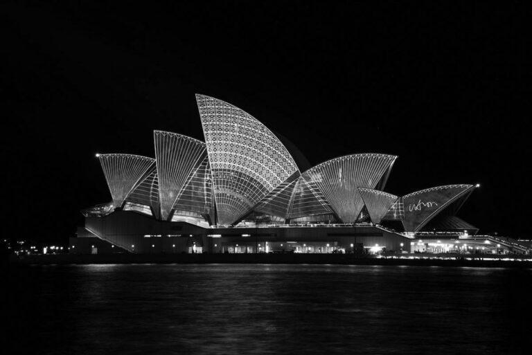 Opera house in Sydney - Australia