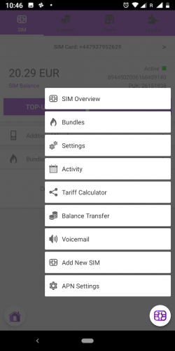 Mobile App NOI BOX Settings